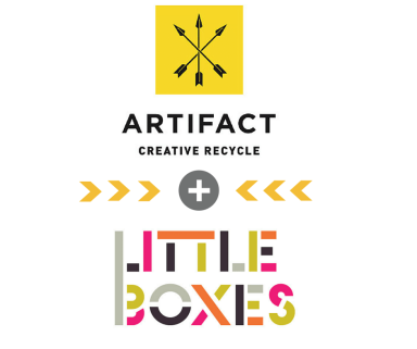 Artifact Creative Recycle and Little Boxes are teaming up for a mega fabulous Black Friday and Small Business Saturday Sale event!